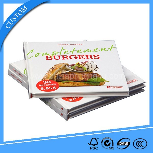 China Factory Printing Fashionable Cook Book High Quality
