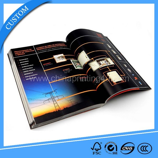A4 Full Color Gloss Lamination Impressive Catalogue