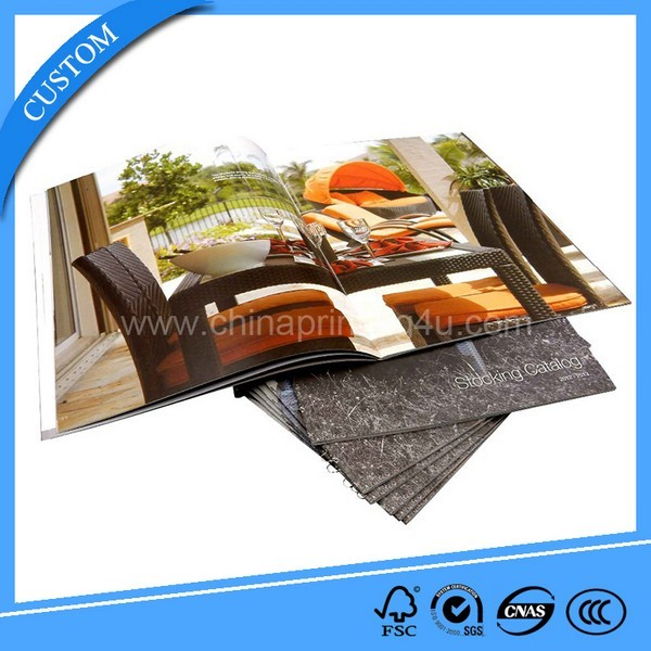 China Printing Factory Custom Furniture Catalogue High Quality