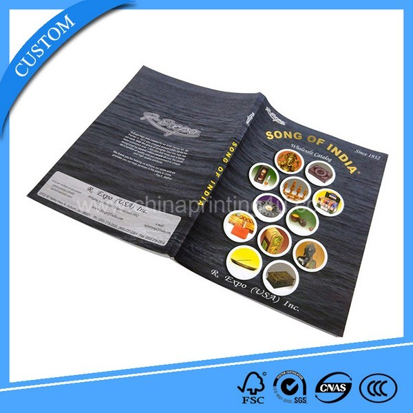 2017 Custom Full Color Printing High Quality Catalog