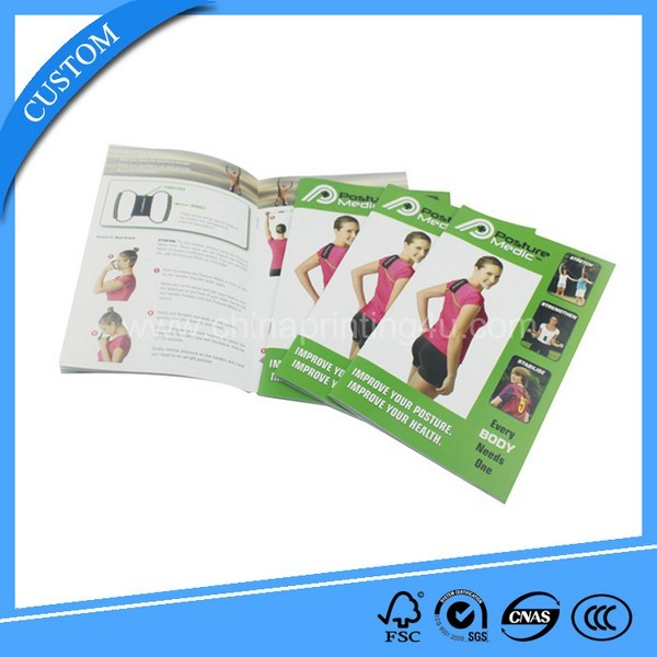 Cheap Custom High Quality Advertising Brochure Printing