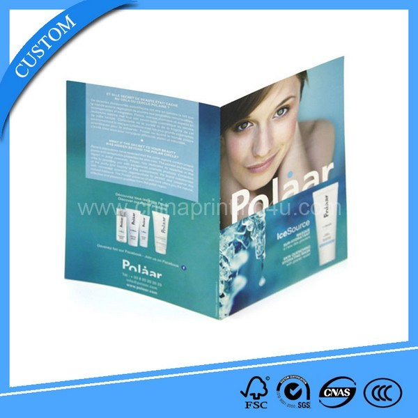 Cheap Price Glossy Paper Brochures Printing In China