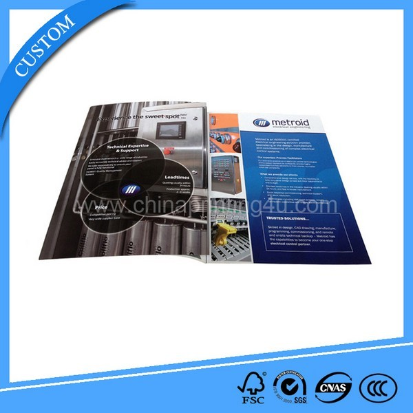 China Factory Custom Cheap Booklet Printing Brochure