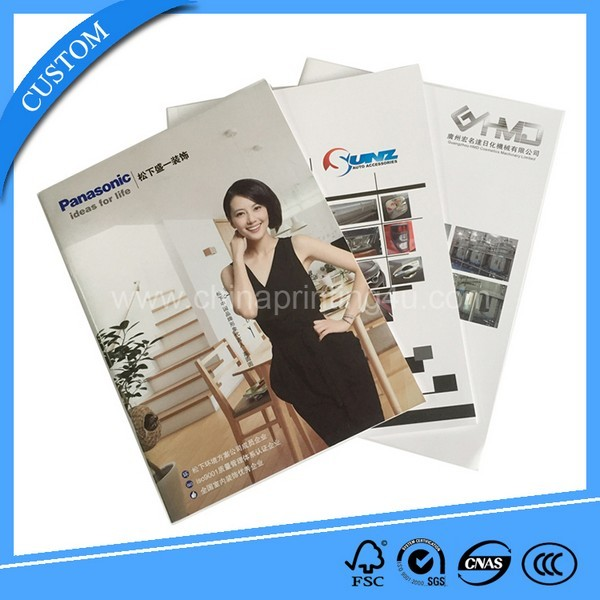 Factory Printed Catalog User Manual Color Brochure