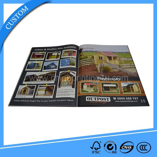 Cheap Magazine Printing Custom Paper Book Printing