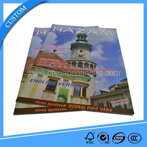 Lamination Art Paper Booklet Advertising Magazine Printing