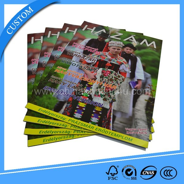 China Company Cheap Offset Print High Quality Magazine