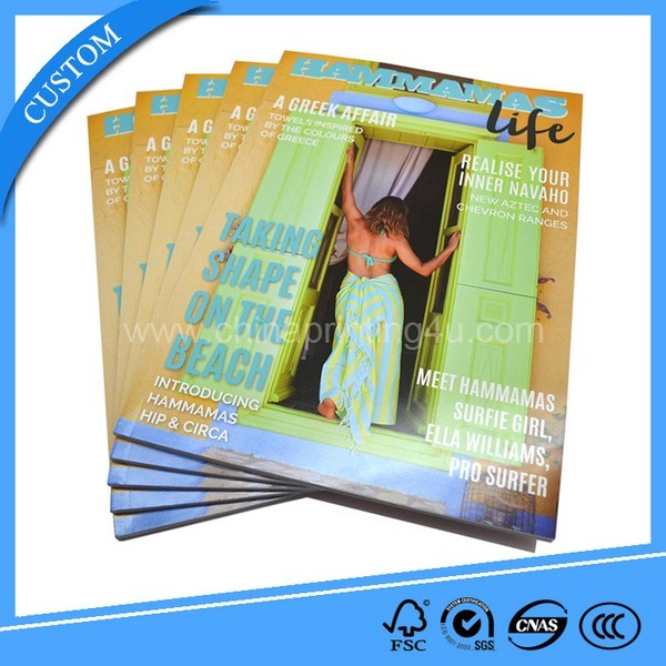 Exporter Cheap Factory Price Magazine Printing Services