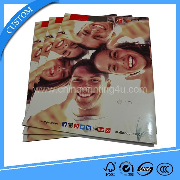 Full Color Custom Well Designed Offset Cheap Magazine Printing