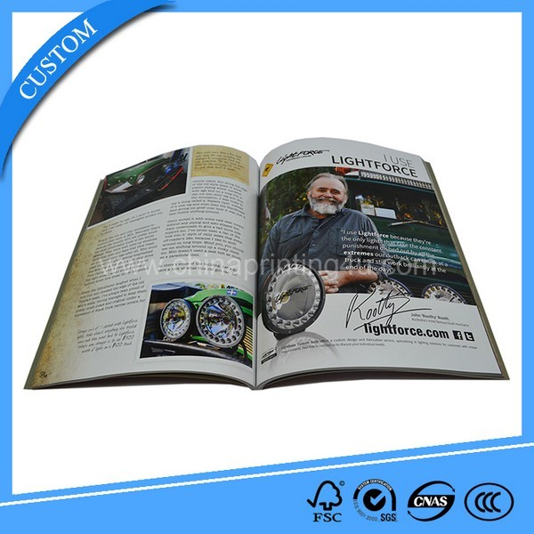Most Popular Fashion Business Adult Free Style Magazine Printing