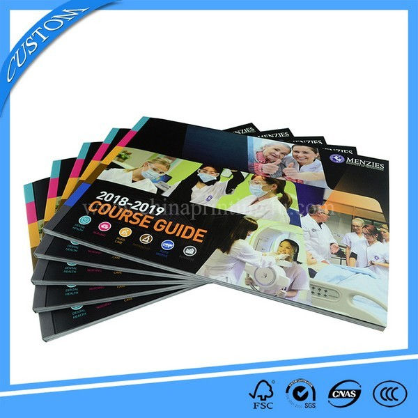 New Customized Course Guide Printing With Low Cost