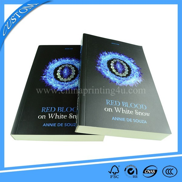 High Quality Thick Figure Book Printing UV Spot