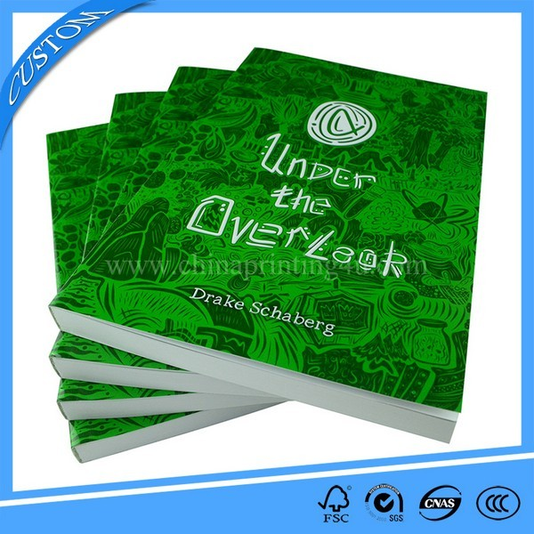 Customized High Quality Cheap Emboss Book Printing