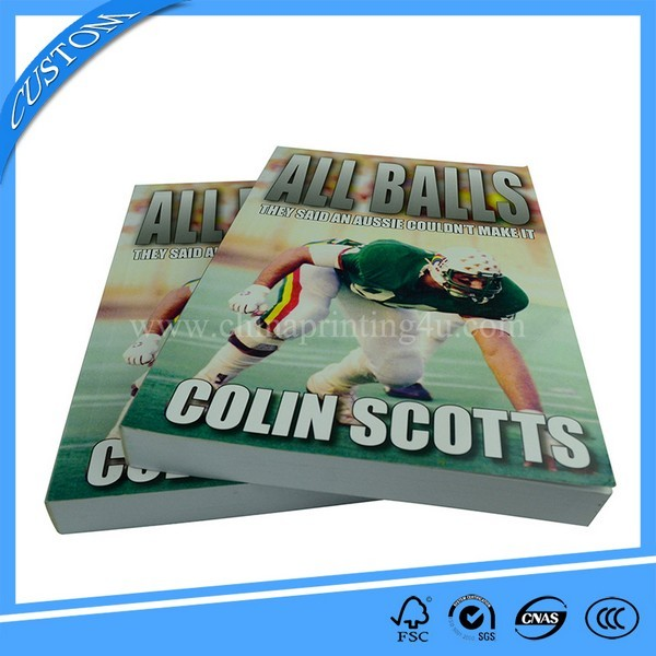 Custom Top Quality A4 Book Printing Offset Printed