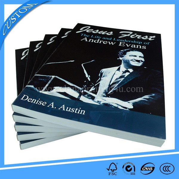 Custom Softcover Full Color Printing Book In China
