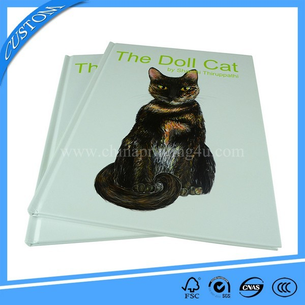 China Professional Printer Free Sample Hardcover Book Printing