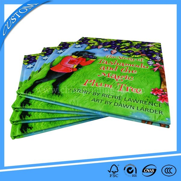 China Manufacturer Sewing Binding Hardcover Book Printing
