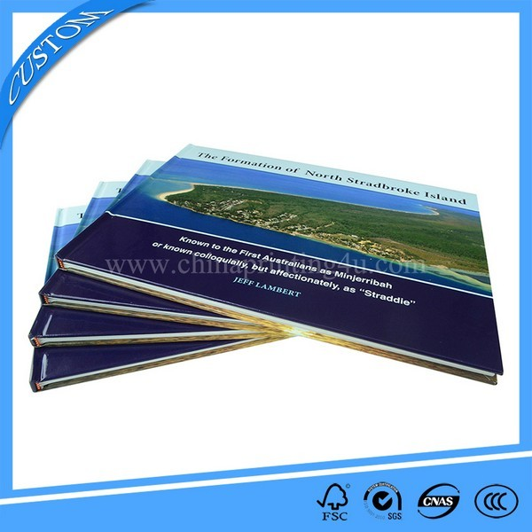 High Quality Customized Horizontal Hardcover Book Printing
