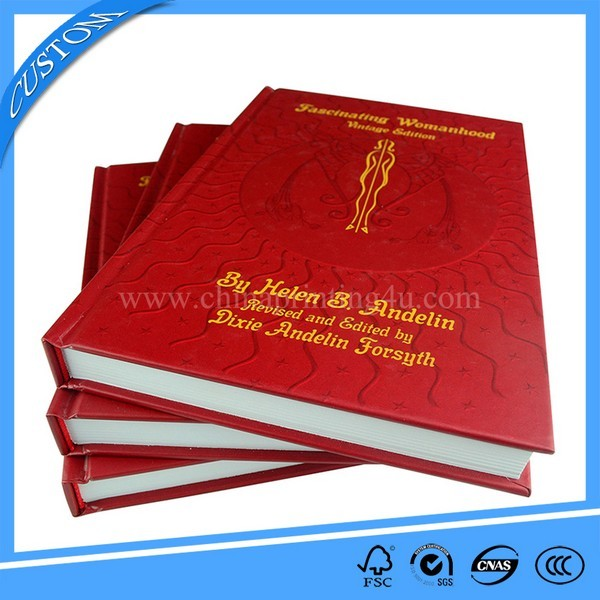 Offset Printed Machine Cheap Hardcover Book Printing China