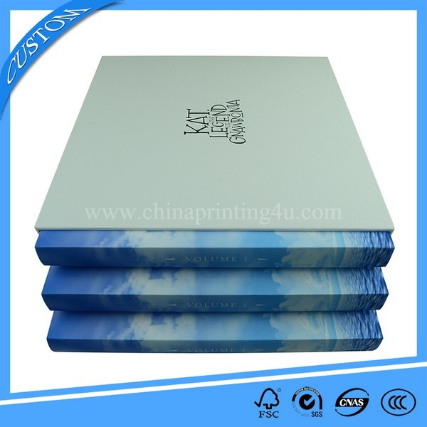 High Quality Customized Hardcover Book Printing With Box