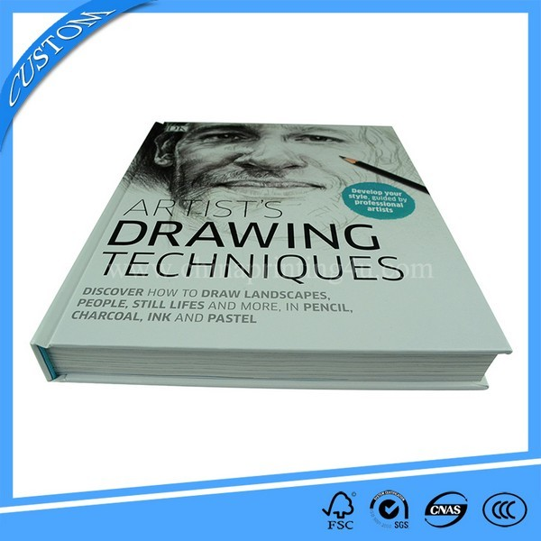 2018 High Quality Hardcover Custom Coloring Book Printing