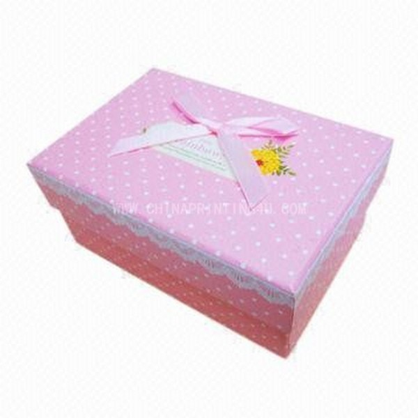 Paper Box For Gift And Packaging