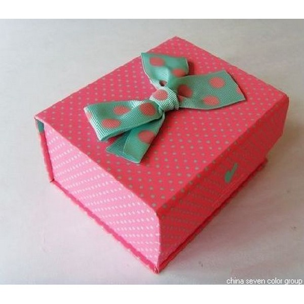 Gift Boxes With Fancy Bow
