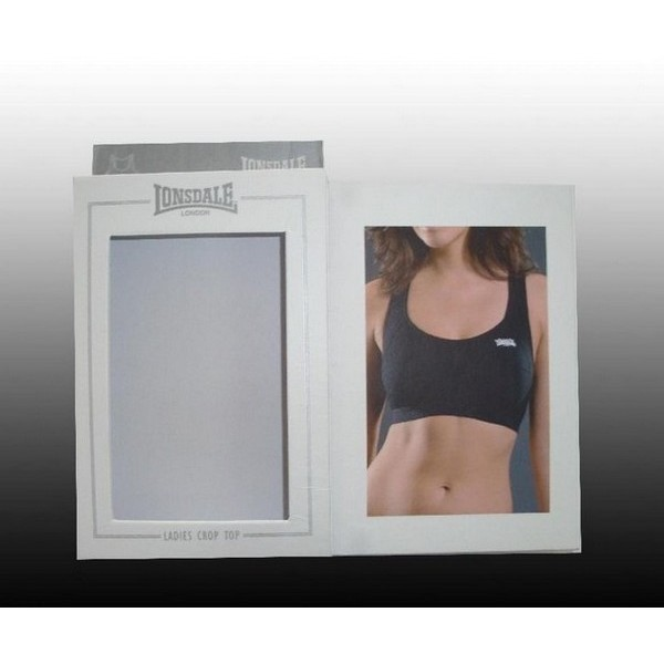Paper Underwear Packaging Box With PVC Window