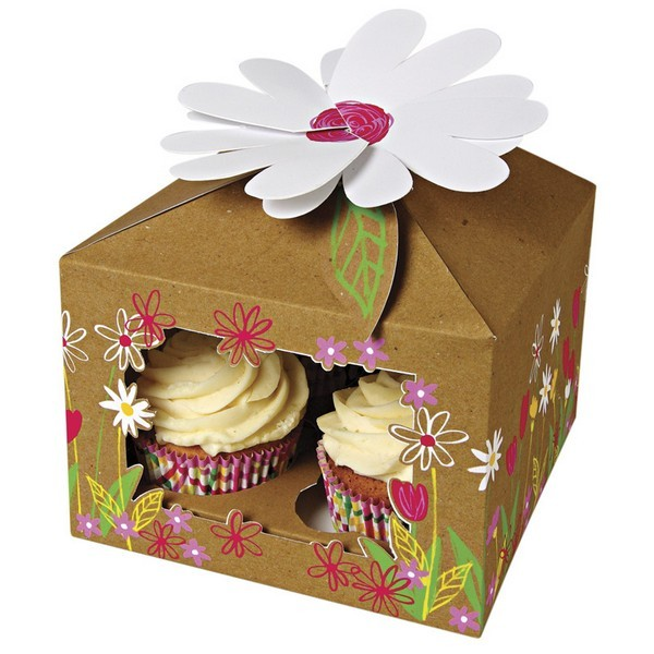 Customized Paper Cupcake boxes