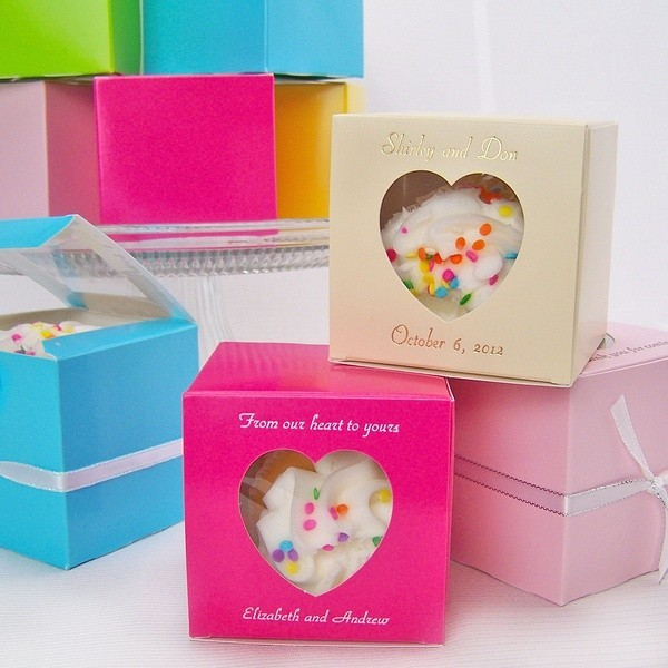 Eco-Friendly Folding Cupcake Boxes