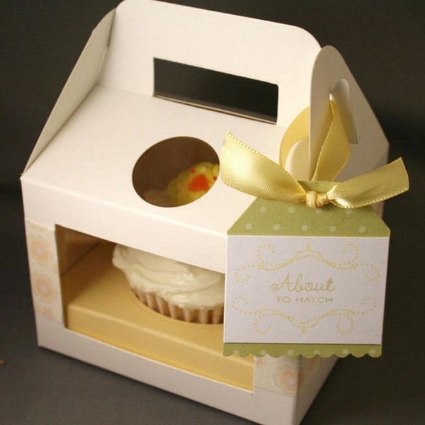 High Quality Cupcake Box