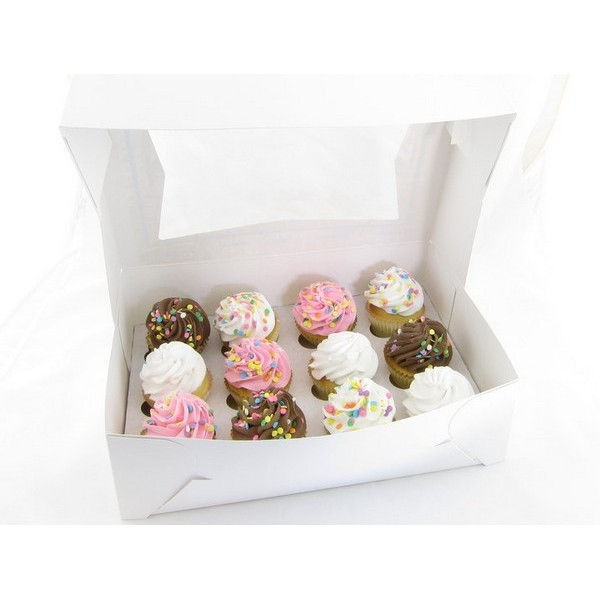 Custom Made Cupcake Boxes