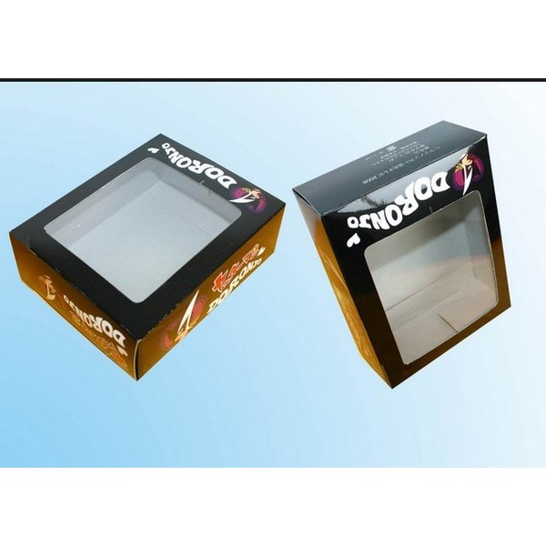 Gloss Paper Box With Window