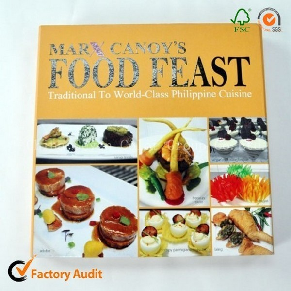 Hardcover Cook Book In China
