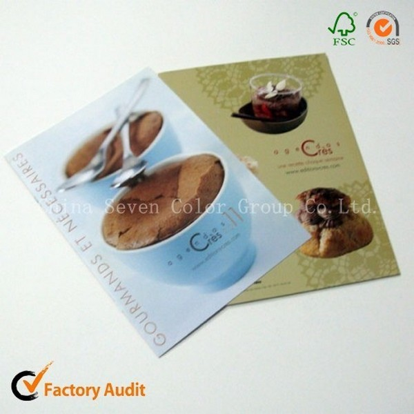 Hotsale Printing Hardcover Photo Cook Books