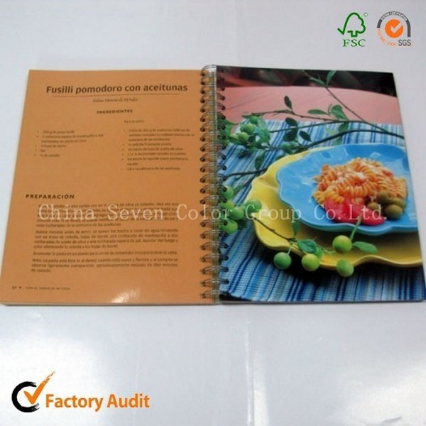 Cook Book Printing Factory