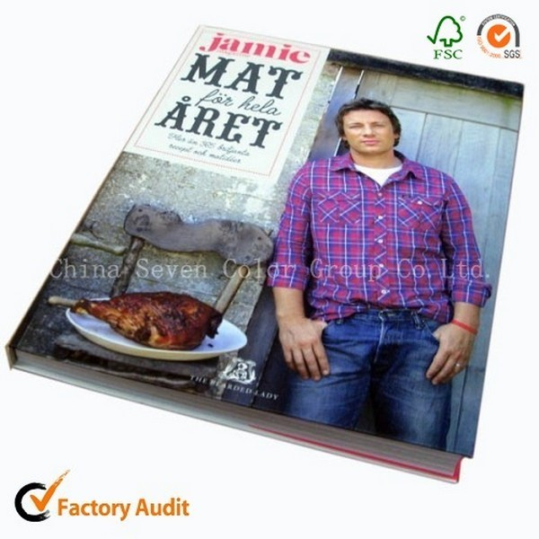 Colorful Printed Cook Book In China