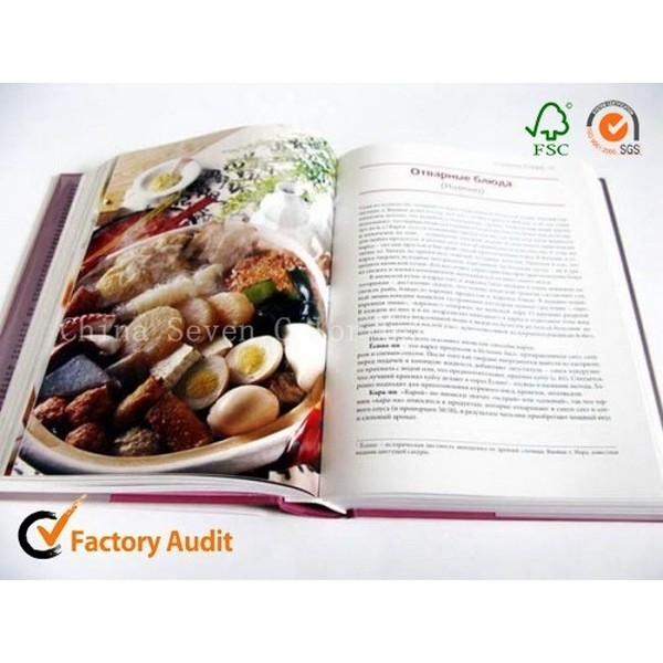 Fancy Printing Cooking Book