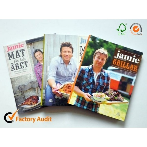 High Quality Cook Book Printing
