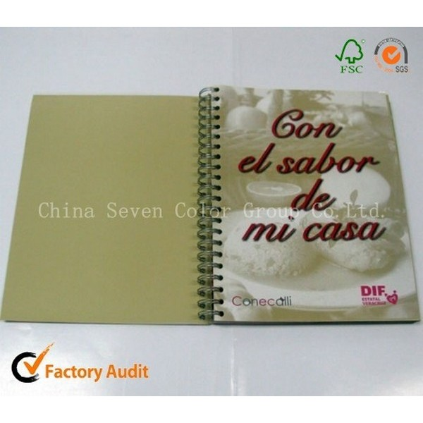 Hardcover Cooking Book Printing