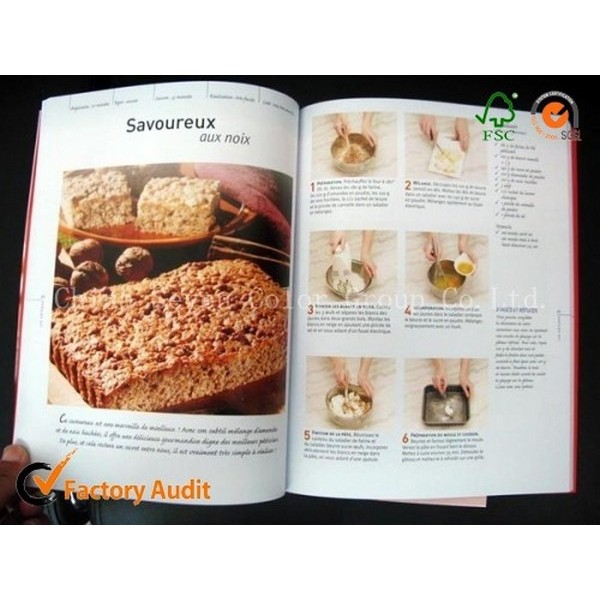 Hot Sale Colorful Cookery Book