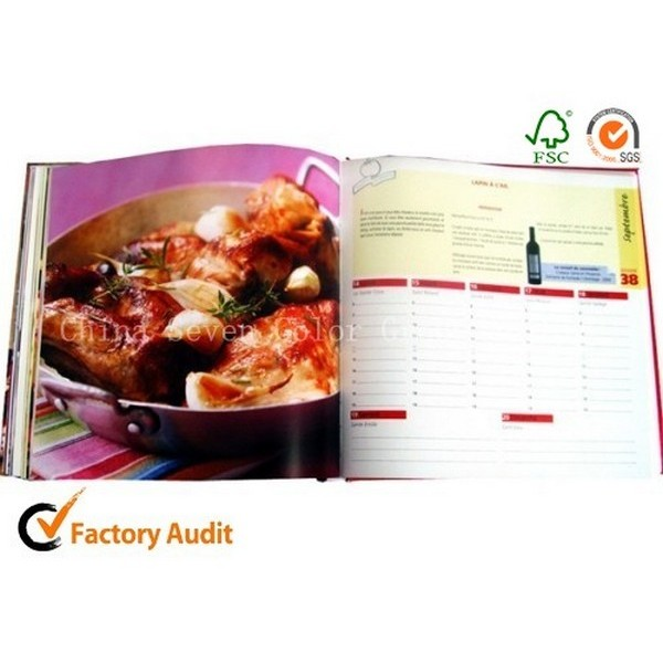 Cooking Book With Hardcover Printing