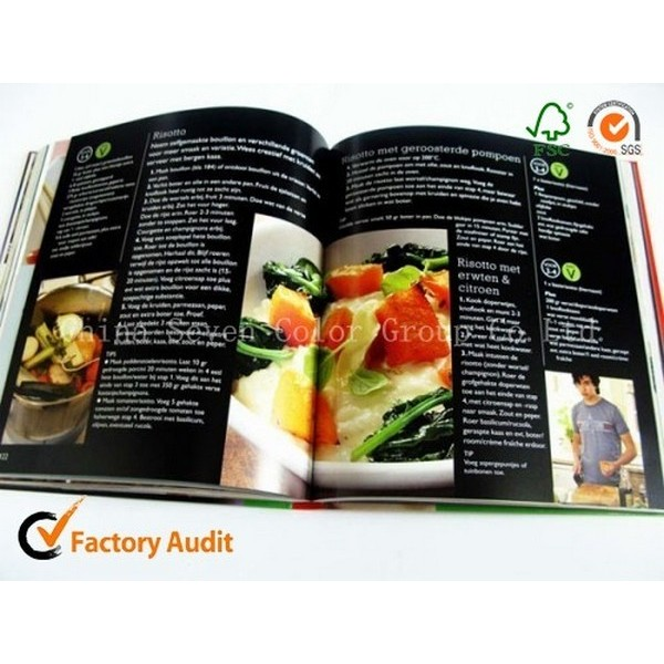 Hardcover Spiral Binding Cook Book