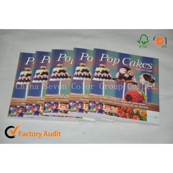Food Book Printing With Cheap Price