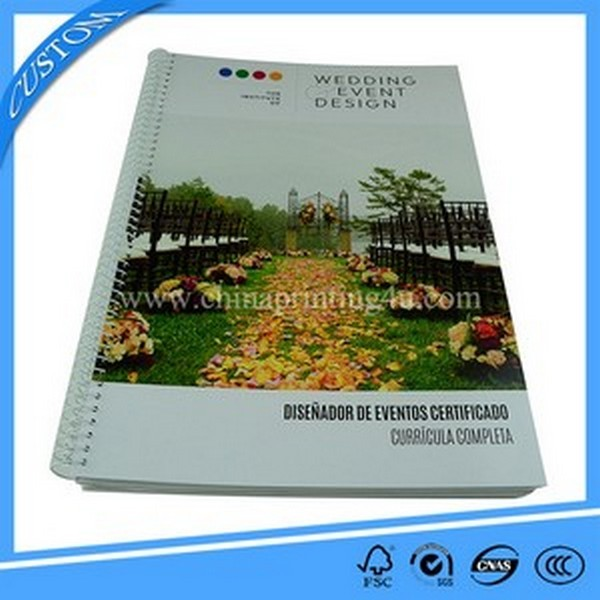 Customized High Quality Spiral Binding Magazine Printing
