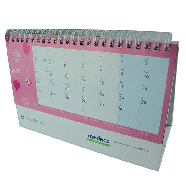 Spiral Binding Calendar Printing, Wire-O Calendar Manufacturer in China