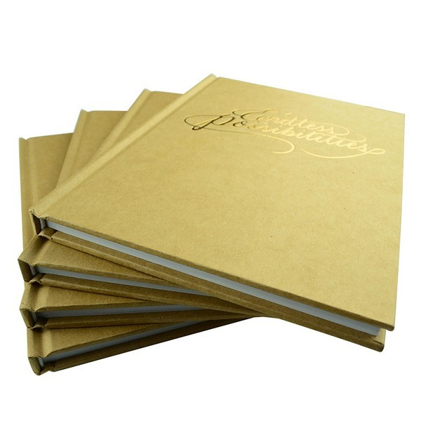 A5 Case Bound Kraft Notebook Printing from China