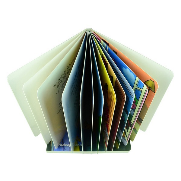 Children Cardboard Book Printing,ECO-friendly Paper High Quality Paper