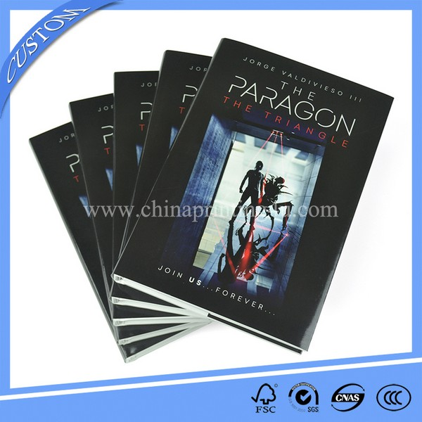 High Quality Hardcover Novel Printing Factory Directly