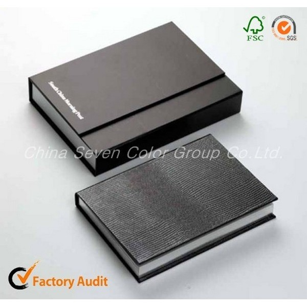 Embossed Logo And Pu Leather Notebook